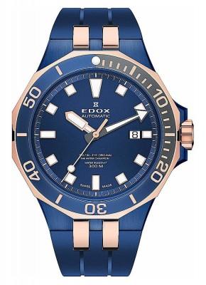 Edox Delfin Date Date Automatic 80110 357BURCA BUIR watch picture