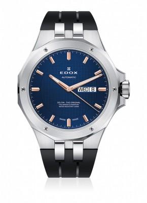 Edox Delfin DayDate Automatic 88005 3CA BUIR watch picture