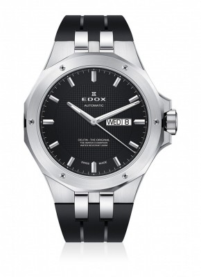 Edox Delfin DayDate Automatic 88005 3CA NIN watch picture
