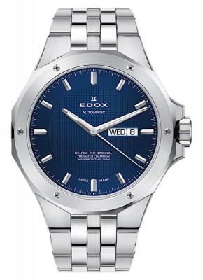 Edox Delfin DayDate Automatic 88005 3M BUIN watch picture