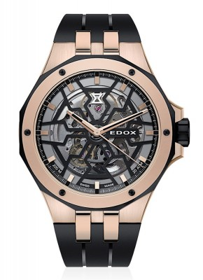 Edox Delfin Mecano Automatic 85303 357RN NRN watch picture