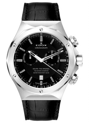 Edox Delfin The Original Chronograph 10105 3 NIN watch picture