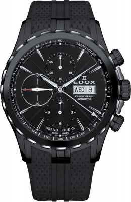 Edox Grand Ocean Automatic Chronograph 01113 357N NIN watch picture
