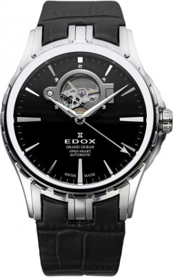 Edox Grand Ocean Automatic Open Heart 85008 3 NIN watch picture