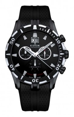 Edox Grand Ocean Chronodiver 10022 37N NIN watch picture