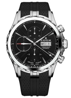 Edox Grand Ocean Chronograph Automatic 01113 3 NIN watch picture