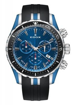 Edox Grand Ocean Chronograph Date Quarz 10248 357BU BUIN watch picture