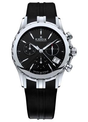 Edox Grand Ocean Chronolady Chronograph 10410 3 NIN watch picture