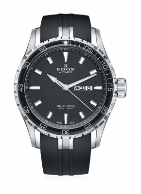 Edox Grand Ocean Day Date Automatic 88002 3CA NIN watch picture