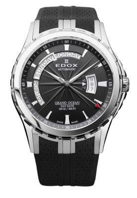Edox Grand Ocean Day Date Automatic Gent 83006 3 NIN watch picture