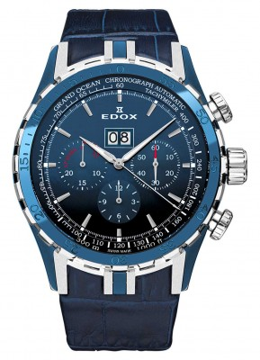 Edox Grand Ocean Extreme Sailing Series Special Edition 45004 357B BUIN watch picture