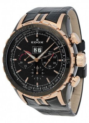 Edox Grand Ocean Extreme Sailing Series Special Edition Chronograph 45004 357RN NIN watch picture