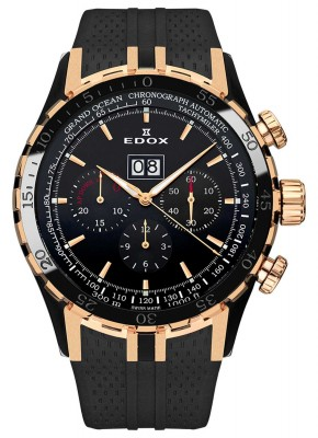 Edox Grand Ocean Extreme Sailing Series Special Edition Chronograph 45004 357RN NIR watch picture