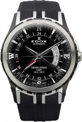 Edox Grand Ocean GMT Automatic 93004 357N NIN watch picture