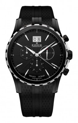 Edox Grand Ocean Lady Chronograph 10023 357N NIN watch picture