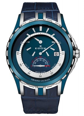 Edox Grand Ocean Regulator Automatic 77002 357B BUIN watch picture