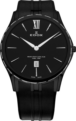 Edox Grand Ocean Ultra Slim Weltrekord 27033 357N NIN watch picture