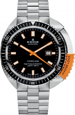 Edox Hydro Sub Automatic 80301 3NOM NIN watch picture
