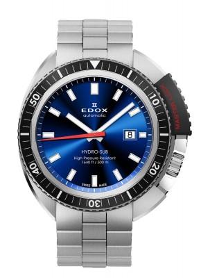 Edox HydroSub Automatic Diver Taucheruhr 80301 3NM BUIN watch picture