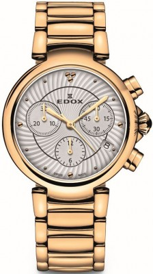 Edox LaPassion Chronograph 10220 37RM AIR watch picture
