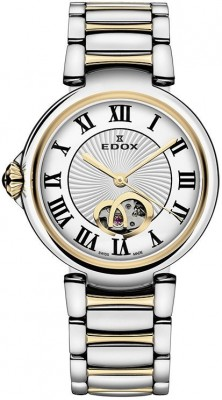 Edox LaPassion Open Heart Automatic 85025 357RM ARR watch picture