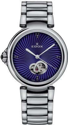 Edox LaPassion Open Heart Automatic 85025 3M BUIN watch picture