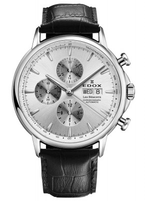 Edox Les Bemonts Chronograph 01120 3 AIN watch picture