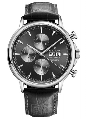 Edox Les Bemonts Chronograph 01120 3 GIN watch picture