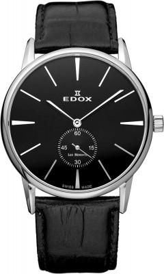 Edox Les Bemonts Ultra Slim Mechanical Gent 72014 3 NIN watch picture