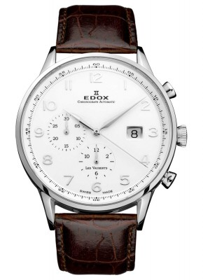 Edox Les Vauberts Chronograph Automatic 91001 3 ABN watch picture