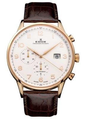 Edox Les Vauberts Chronograph Automatic 91001 37R ABR watch picture