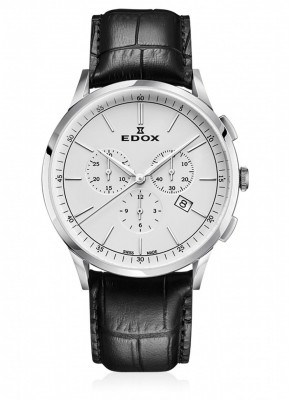 Edox Les Vauberts Chronograph Date Quarz 10236 3C AIN watch picture
