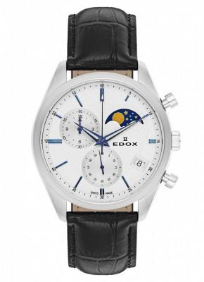 Edox Les Vauberts Chronograph Mondphase Date Quarz 01655 3 AIBU watch picture