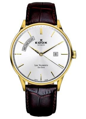 Edox Les Vauberts Day Date Automatic 83010 37J AID watch picture