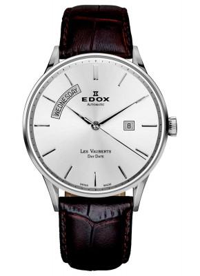 Edox Les Vauberts Day Date Automatic 83010 3B AIN watch picture