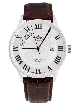 Edox Les Vauberts Day Date Automatic 83010 3B AR watch picture