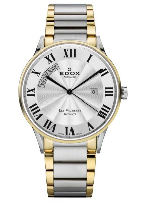 Edox Les Vauberts Day Date Automatic 83011 357J AR watch picture
