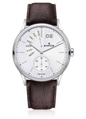 Edox Les Vauberts Day Retrograde Grossdatum 34500 3 AIN watch picture
