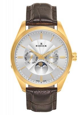 Edox Les Vauberts DayDate Mondphase 40008 37J AID watch picture