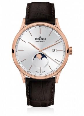 Edox Les Vauberts La Grande Lune Automatic 80500 37R AIR watch picture