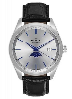 Edox Les Vauberts Mondphase Date Automatic 80505 3 AIBU watch picture