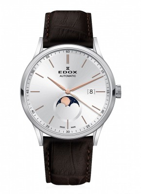 Edox Les Vauberts Mondphase Date Automatic 80505 3 AIR watch picture