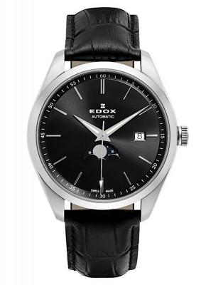 Edox Les Vauberts Mondphase Date Automatic 80505 3 NIN watch picture
