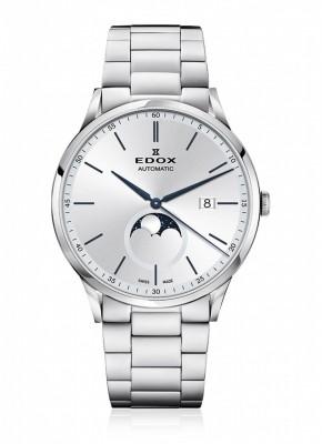 Edox Les Vauberts Mondphase Date Automatic 80505 3M AIBU watch picture