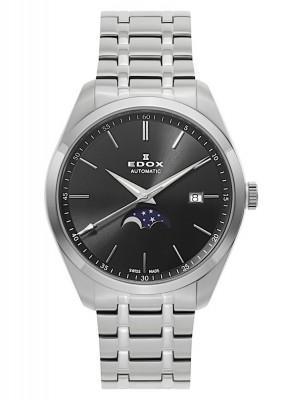 Edox Les Vauberts Mondphase Date Automatic 80505 3M NIN watch picture