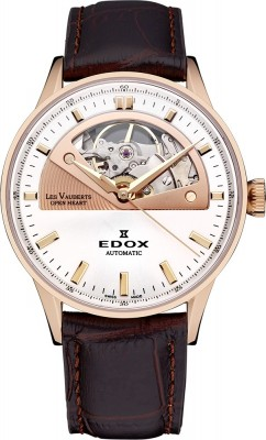Edox Les Vauberts Open Heart Automatic 85019 37RA AIR watch picture