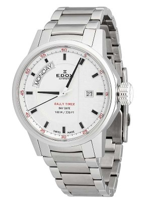 Edox Rally Timer DayDate Automatic 83009 3 AIN watch picture