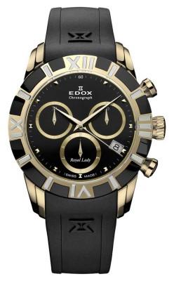 Edox Royal Lady Chronolady 10405 357JN NID watch picture