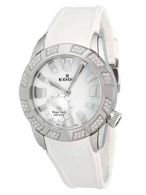 Edox Royal Lady with 80 diamonds 23087 3D80 NAIN watch picture