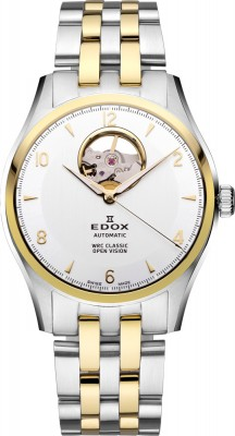 Edox WRC Classic Automatic Open Vision 85016 357J AID watch picture